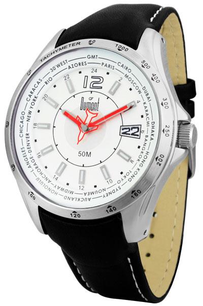a7fe07d20de Relogio moderno pulseira em couro pespontada fundo branco masculino ...