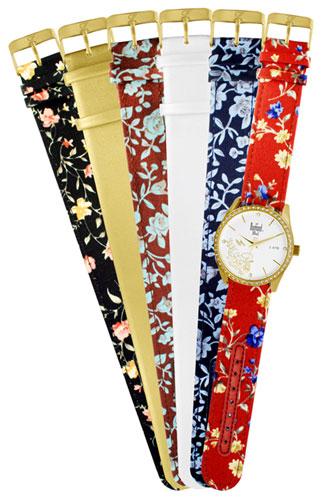cca25817564 Relógio analógico Feminino troca as pulseiras coleção Bali - SK65068B -  Dumont - WKshop