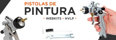 Banner - Pistolas de Pintura WebKits HVLP