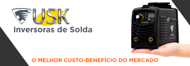 Banner - Inversoras de Solda USK America King